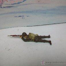 Juguetes Antiguos: FIGURA ELASTOLIN - FIGURA COMPOSICION PASTA - NO PECH ,AMERICANO ELASTOLIN -VER FOTOS. Lote 31989850