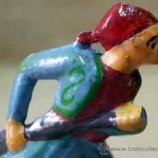 Juguetes Antiguos: FIGURA DE ALUMINIO, SOLDADO, FRANCIA, ALU, ALUDO, QUIRALU, MIGNALU, 6,5 CM. Lote 39013492