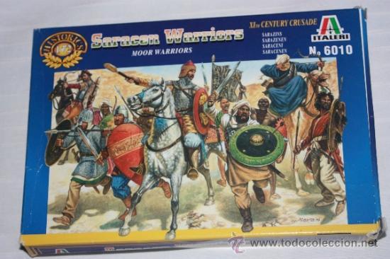 LOS SARRACENOS (SARACEN WARRIORS), DE LA CRUZADA DEL S.XI (ITALERI Nº6010) (Juguetes - Soldaditos - Otros soldaditos)