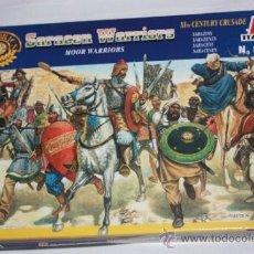 Juguetes Antiguos: LOS SARRACENOS (SARACEN WARRIORS), DE LA CRUZADA DEL S.XI (ITALERI Nº6010). Lote 39448731