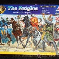 Juguetes Antiguos: LOS CRUZADOS ( THE KNIGHTS), DE LA CRUZADA DEL S.XI (ITALERI Nº6009). Lote 39448757