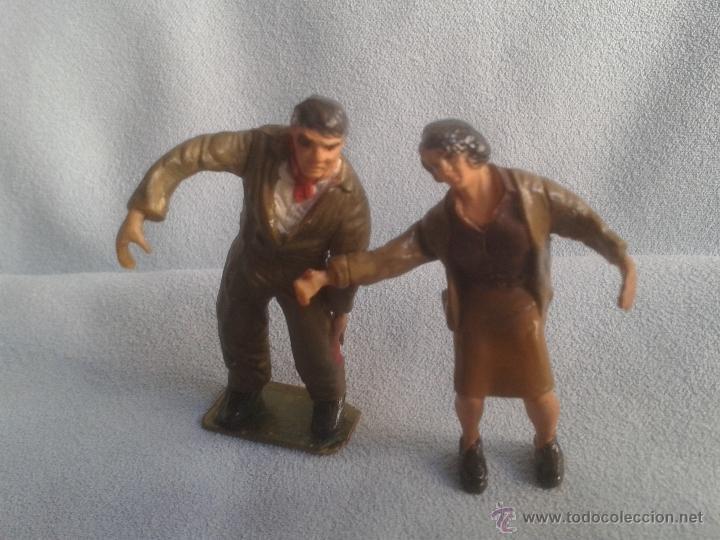 Juguetes Antiguos: 26 figuras segunda guerra mundial no conozco el fabricante .Ver coleccionistas - Foto 4 - 40857159
