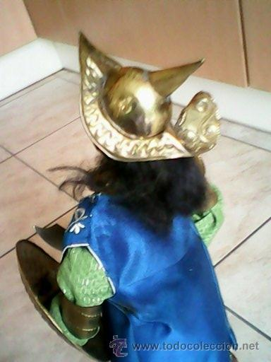 Juguetes Antiguos: SOLDADO PUPI MONGOL ORIGINAL EL CUERPO DE MADERA LA CABEZA DE TERRA COTA LA ROPA DE HOJALATA - Foto 8 - 41560406
