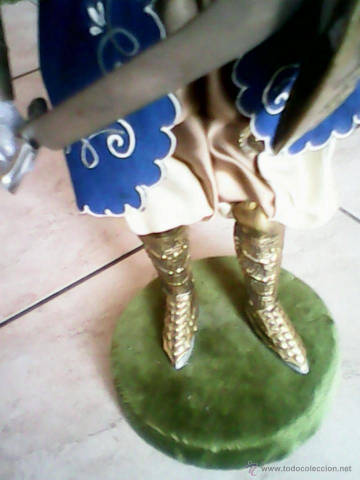 Juguetes Antiguos: SOLDADO PUPI MONGOL ORIGINAL EL CUERPO DE MADERA LA CABEZA DE TERRA COTA LA ROPA DE HOJALATA - Foto 12 - 41560406