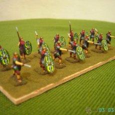 Juguetes Antiguos: DIORAMA DE SOLDADOS ROMANOS AUXILIARES.ESCALA 1/72.. Lote 42108369