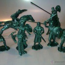 Juguetes Antiguos: LIDO-FIGURAS DE PLASTICO- REY ARTURO/PRINCIPE VALIENTE. Lote 43491275