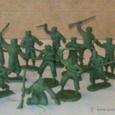 Juguetes Antiguos: MRX--FIGURAS DE PLASTICO DE 3 MM. Lote 46912099