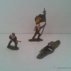 Juguetes Antiguos: LOTE 3 SOLDADOS LEGION ESPAÑOLA. Lote 44324289