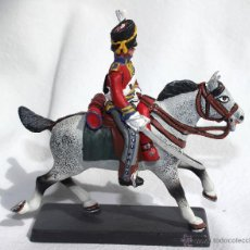 Juguetes Antiguos: BRITISH 2ND DRAGOONS-SCOTS GREYS DEA BY CASSANDRA. Lote 45427150