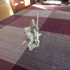 Juguetes Antiguos: CABALLERO MEDIEVAL CON ARMADURA - ESCALA (54MM). Lote 46237047