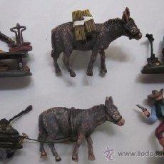 Juguetes Antiguos: LOTE DE CINCO FIGURAS SERIE BUSCADORES DE ORO.. Lote 49513072
