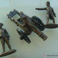 Juguetes Antiguos: LOTE DE ARTILLERIA : ARTILLEROS SIGLO XVIII Y CAÑON , DE PLAYME .... Lote 50086607