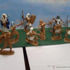 Juguetes Antiguos: LOTE 11 JECSAN EGIPCIOS 65MM . NUEVOS. Lote 222295177