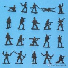 Juguetes Antiguos: JUGUETE MILITAR 'LOTE SOLDADITOS 00003', ESCALA 1/35.. Lote 52423461