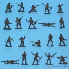 Juguetes Antiguos: JUGUETE MILITAR 'LOTE SOLDADITOS 00005', ESCALA 1/35.. Lote 52423470