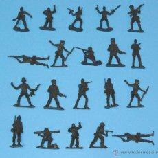Juguetes Antiguos: JUGUETE MILITAR 'LOTE SOLDADITOS 00008', ESCALA 1/35.. Lote 52443650