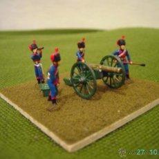 Juguetes Antiguos: CAÑON FRANCES DE LA GUARDIA IMPERIAL NAPOLEONICA.ESCALA 1/72.. Lote 53217369