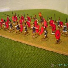 Juguetes Antiguos: DIORAMA DE UNA COHORTE ROMANA REPUBLICANA.ESCALA 1/72.. Lote 54006770