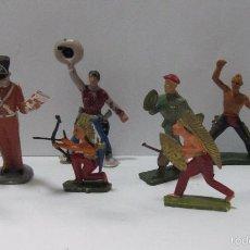Juguetes Antiguos: LOTE DE MUÑECOS,FIGURITAS,ORIGINALES,SOLDADITOS,ES EL LOTE DE LA FOTO. Lote 58137083