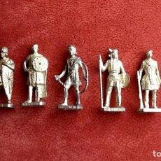Juguetes Antiguos: SOLDADITOS HISTORICOS DE METAL ENVIO INCLUIDO.. Lote 288145508