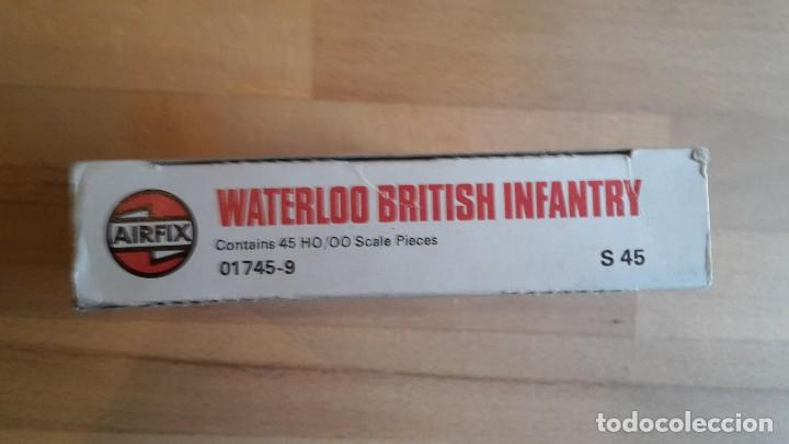 Juguetes Antiguos: Soldados Airfix Waterloo British infantry completo, sueltos, año 1975 - Foto 3 - 66422010