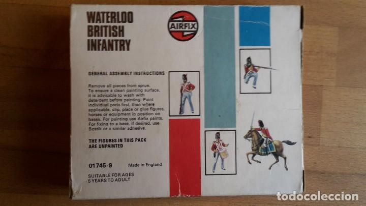 Juguetes Antiguos: Soldados Airfix Waterloo British infantry completo, sueltos, año 1975 - Foto 6 - 66422010