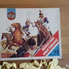 Giochi Antichi: SOLDADOS AIRFIX WATERLOO FRENCH CAVALRY, COMPLETO, SUELTOS, AÑO 1974. Lote 66426762
