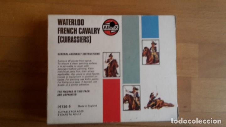 Juguetes Antiguos: Soldados Airfix Waterloo French cavalry, completo, sueltos, año 1974 - Foto 6 - 66426762
