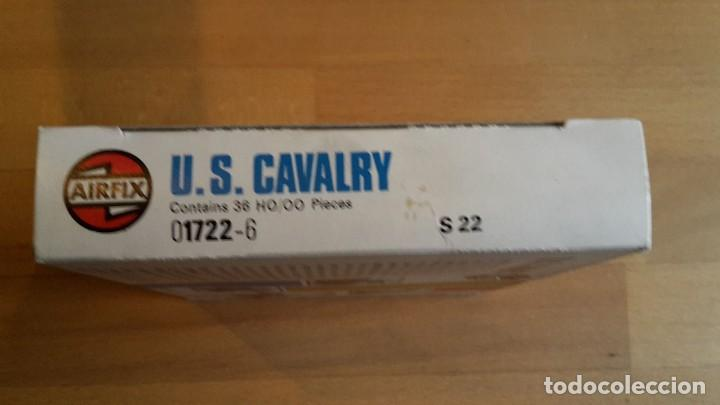 Juguetes Antiguos: Soldados Airfix U.S. cavalry, completo, sueltos año 1975 - Foto 3 - 66428722