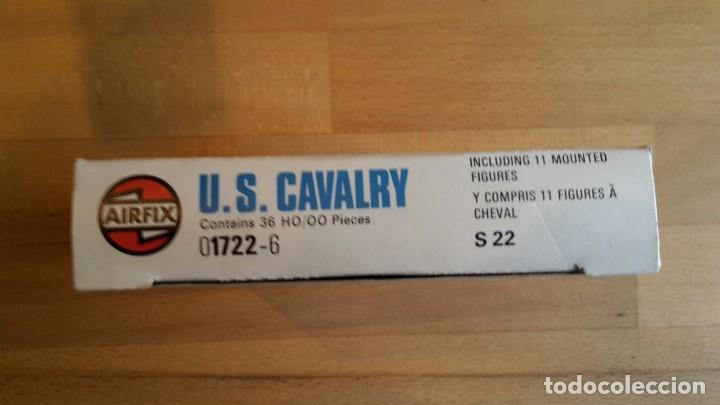 Juguetes Antiguos: Soldados Airfix U.S. cavalry, completo, sueltos año 1975 - Foto 5 - 66428722