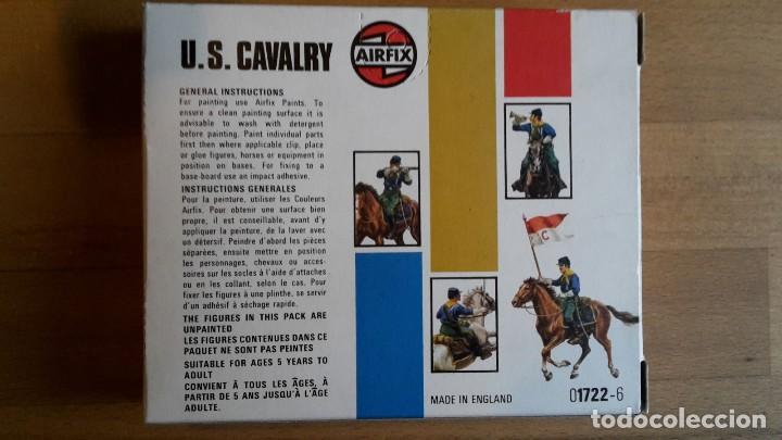 Juguetes Antiguos: Soldados Airfix U.S. cavalry, completo, sueltos año 1975 - Foto 6 - 66428722