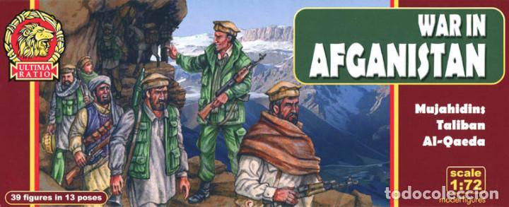 1//72 Soldados De Brinquedo Talibã mujahedin Ultima Ratio 7201 Guerra No Afeganistão