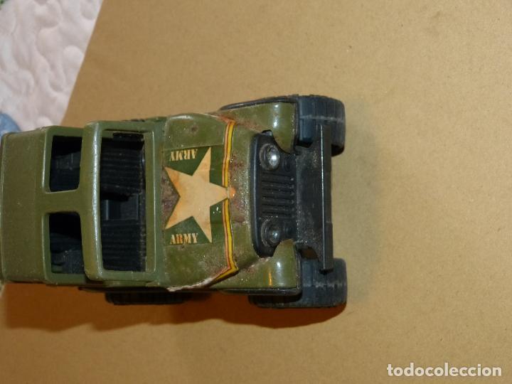Juguetes Antiguos: JEEP WW II (JUEGO AÑOS 60/70, BASE METÁLICA) MARCA BUDDY - Foto 3 - 69864033