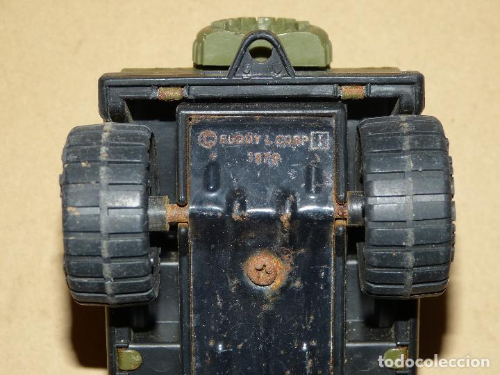 Juguetes Antiguos: JEEP WW II (JUEGO AÑOS 60/70, BASE METÁLICA) MARCA BUDDY - Foto 6 - 69864033