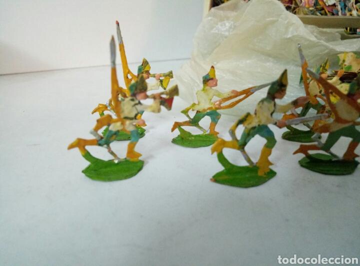 Juguetes Antiguos: Lote completo ejercitos de soldaditos - Foto 2 - 96228888