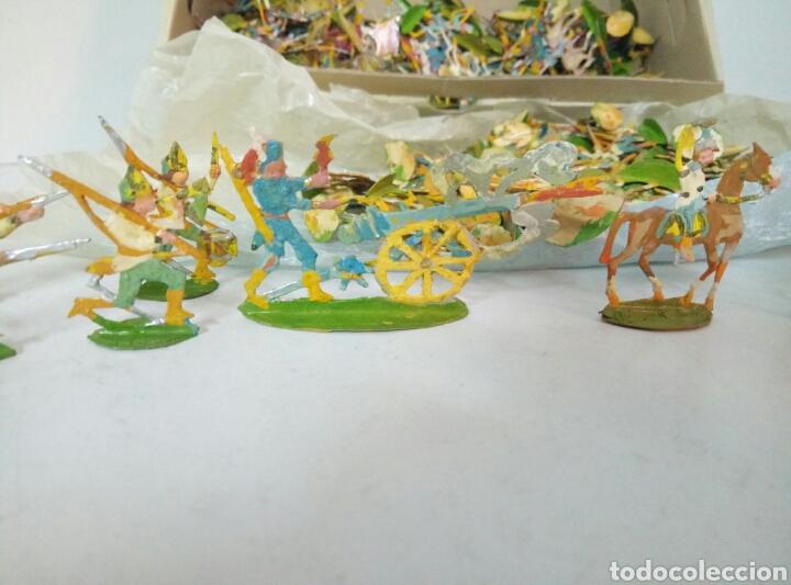 Juguetes Antiguos: Lote completo ejercitos de soldaditos - Foto 3 - 96228888