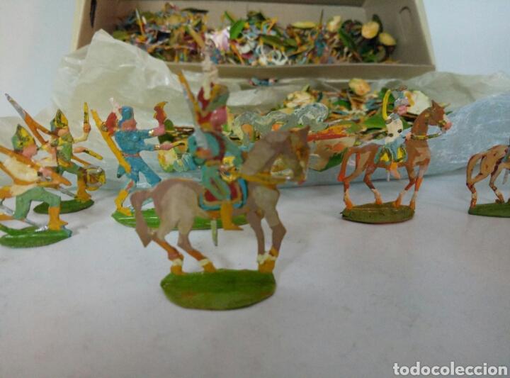 Juguetes Antiguos: Lote completo ejercitos de soldaditos - Foto 7 - 96228888