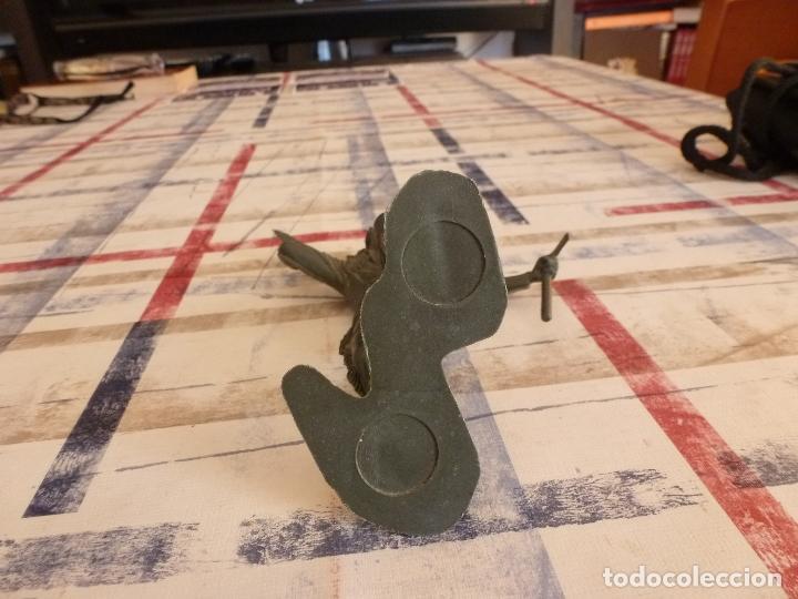 Juguetes Antiguos: DEFENSOR DEL ÁLAMO-DAVY CROCKETT-14CM. DETALLES PERFECTOS DE DEFINICIÓN.-MARX-ORIGINAL - Foto 3 - 29596926