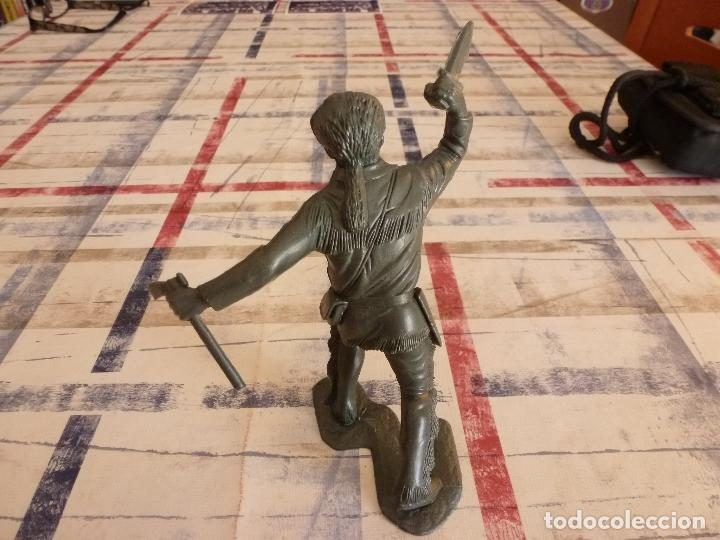 Juguetes Antiguos: DEFENSOR DEL ÁLAMO-DAVY CROCKETT-14CM. DETALLES PERFECTOS DE DEFINICIÓN.-MARX-ORIGINAL - Foto 4 - 29596926