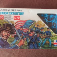 Juguetes Antiguos: AMERICAN CIVIL WAR - UNION INFANTRY 1/72. Lote 98542012