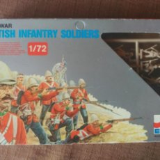 Juguetes Antiguos: ZULU WAR - BRITISH INFANTRY SOLDIERS 1/72. Lote 98542274