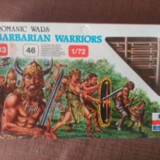 Juguetes Antiguos: ROMANIC WARS - BARBARIAN WARRIORS 1/72. Lote 98542768