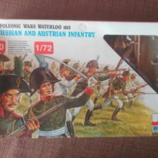 Juguetes Antiguos: NAPOLEONIC WARS WATERLOO 1815 - PRUSSIAN AND AUSTRIAN INFANTRY 1/72. Lote 98544408