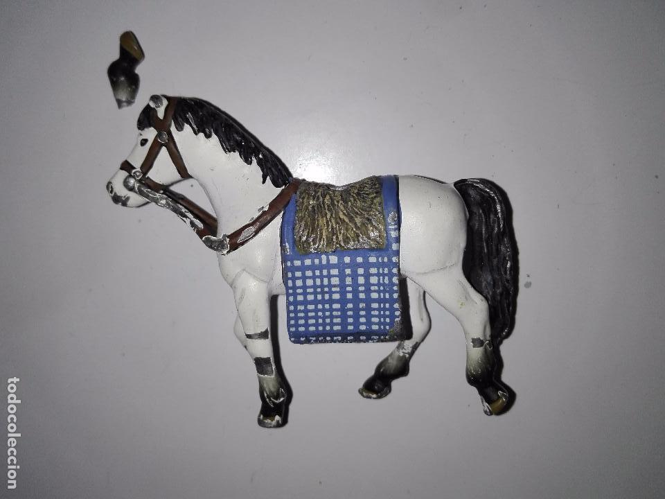 Juguetes Antiguos: Figura caballo para caballero soldados guerreros de plomo - Foto 2 - 101585615