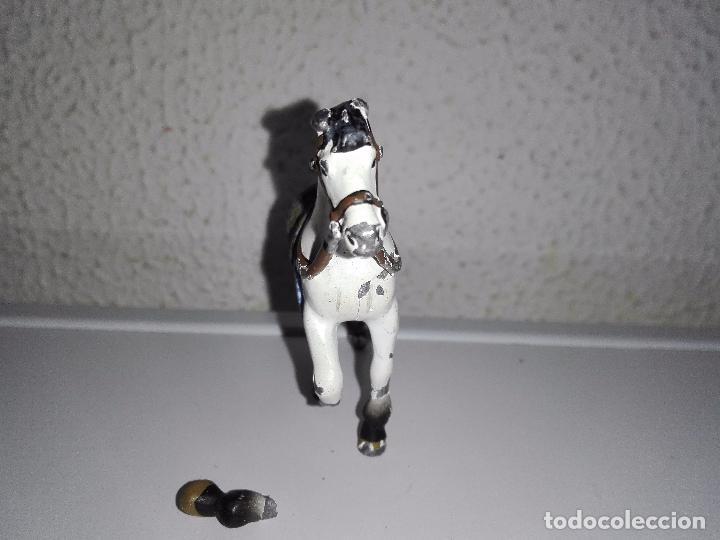Juguetes Antiguos: Figura caballo para caballero soldados guerreros de plomo - Foto 3 - 101585615