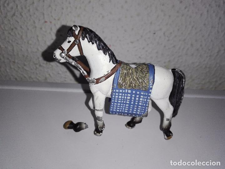 Juguetes Antiguos: Figura caballo para caballero soldados guerreros de plomo - Foto 6 - 101585615