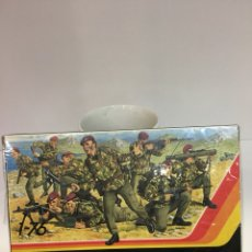 Juguetes Antiguos: MATCHBOX 1/72 1/76 NATO PARATROOPERS. BRITISH PARATROOPERS. FALKLANDS WAR 1982. Lote 112553622