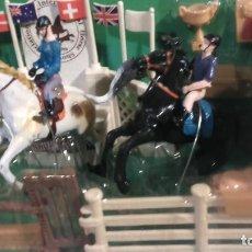 Juguetes Antiguos: HORSE- RACING SET. Lote 112709511