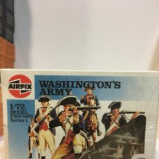 Juguetes Antiguos: AIRFIX 1/72 1/76 H0/00 THE GEORGE WASHINGTON ARMY.. Lote 112718318