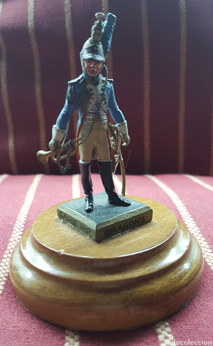 Juguetes Antiguos: Labayen Trompeta Guardia Imperial de Dragones 1807 - Foto 2 - 114438746